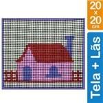 Kit Tela para Bordar Iniciante - 020 Casa