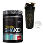 Kit THERMO SHAKE DIET 400G Morango + Coqueteleira 600ml com Mola