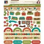 Kit Toke e Crie Scrapbook Momentos Viagem By Flavia Terzi