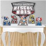 Kit Totem Display Mesa e Parede - Transformers - Tot104