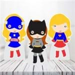 Kit 3 Totens Mesa - Super Heroinas - Tot266