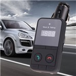 Kit Transmissor Fm Mp3 Player Sem Fio Bluetooth Car Display Lcd Suporte Usb Sd com Controle Remoto Usb Car Charger
