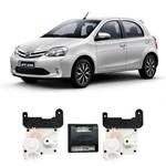 Kit Trava Elétrica Pósitron 4 Portas Toyota Etios 2013 a 2016