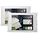 Kit 2 Travesseiros Nasa Up 3 - Fibrasca