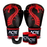 Kit Treino Boxe Dragon Acte Sports