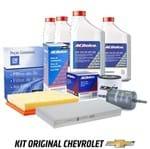 Kit Troca de Óleo 5w30 e Filtros Ac Combustível Ar Kit535 Corsa Novo /montana