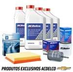 Kit Troca de Óleo 5w30 e Filtros Sm Semissintético Kit463 Cobalt /spin