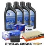 Kit Troca de Óleo e Filtros 20w50 Gasolina Kit345 Celta