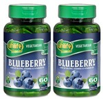 Kit 2 Und Blueberry - Mirtilo 60cps 550mg