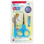 Kit Unhas para Bebê Pais e Filhos Azul