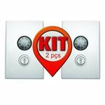 Kit 2 Unid. - Sensor de Presença Bivolt com Botão 3 Fases - Dni 6022