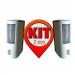 Kit 2 Unidades - Anunciador de Presença com Alarme 2 Sons e Sensor - Dni 6000