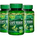 Kit 3 Unidades de Café Verde Unilife - 270 Comprimidos