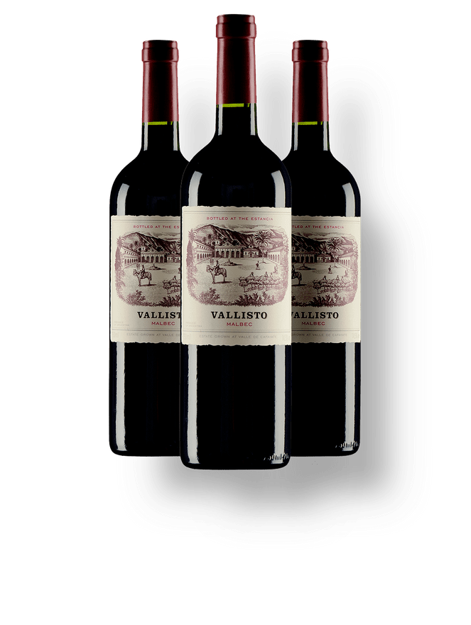 Kit 3 Vallisto Malbec