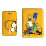 Kit Viagem Passaporte Família Simpsons
