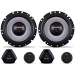"Kit 2 Vias 6"" Bomber Upgrade - 120W Rms o Par, 4 Ohms"