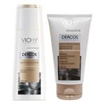Kit Vichy Dercos Shampoo e Condicionador Nutri Reparador
