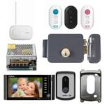 Kit Video Porteiro Abre por Controle IV 7010 HF Intelbras