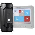 Kit Vídeo Porteiro IP Hikvision DS-KB8112-IM com Monitor DS-KH6310-WL