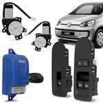 Kit Vidro Elétrico Sensorizado Up 14 15 2 ou 4 Portas Dianteira