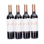 Kit Vinho 4 Unidades Vinho Argentino Aimé Malbec 750ml