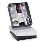 Kit Vinho Francês Sichel 375 Ml+ 2 Taças + 2 Acessórios