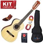 Kit Viola Eletroacústica Vs30 N Natural Strinberg Completo