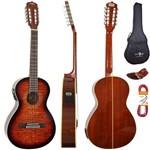 Kit Viola Eletroacústica Vs30 Tbs Sunburst Strinberg Completo
