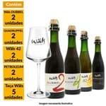 Kit Wäls de Cervejas Rolhadas 375ml + Taça Wäls