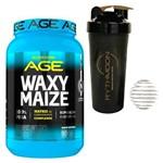 Kit Waxy Maize 900g + Coqueteleira 600ml com Mola
