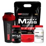 Kit Waxy Mass 3kg + Bcaa 120tabs + Creatine 100g + Coq – Bb