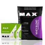 Kit Whey Blend 2kg + 2x New Up Gel Caixa C/10 Und - Max