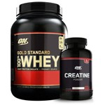 Kit Whey Gold 907g + Creatina 150g - Optimum Nutrition
