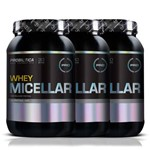 Kit 3 Whey Micellar - 900g - Probiótica