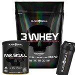 Kit Whey + Mr. Skull - Black Skull