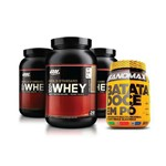 Kit 3 Whey Optimum