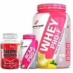 Kit Whey Pro-F Frutas + BCAA + Thermo Abdomen BodyAction