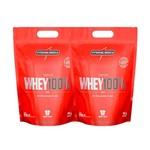 Kit 2 Whey Protein 100% Pure 907g Integralmedica Wey Proten