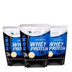 Kit Whey Protein 5w 6,3kg - Health - Morango