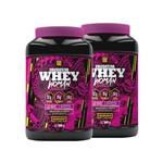 Kit 2 Whey Protein Concentrado Woman 900g - Iridium Labs