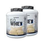 Kit 2 Whey Protein Isolado - Iso Whey 1,8kg Nutrata