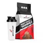 Kit Whey Protein Muscle Hammer 1,8kg + Coqueteleira - Body Action
