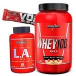 Suplementos Whey/wey Protein 100% + Oleo de Cartamo LA