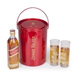 Kit Whisky Escocês Johnnie Walker Red Label 500ml + 2 Copos e Geleira (SQ14885)