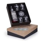 Kit Whisky Jack Daniel´s Litro + 4 Copos e 4 Porta Copos