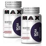 Kit 2x Bcaa 3000 - Max Titanium - 60 Tabletes - Aminoácido