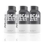 Kit 3x Bcaa 2:1:1 = 360 Capsulas - Athletica Nutrition
