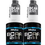 Kit 2x Bcaa 2:1:1 Pro Series 280g + 60 Capsulas - Atlhetica