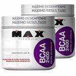 Kit: 2x Bcaa 2.400 - 450 Caps - 900 Total - Max Titanium