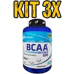 Kit 3x Bcaa Science 500 Peppermint - 200 Tabs
